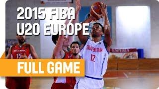 Great Britain v Bulgaria - Group G - Full Game - U20 European Championship Men