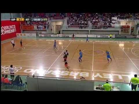 Calcio A 5 - Serie A 2013/14 - PlayOff - Semifinale Gara 1 - Luparense Vs Asti - 1T