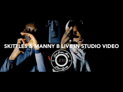 SKITTLES & MANNY B - [JPM LIVE STUDIO SESSIONS] F*CK THEM MAN (4K) MUSIC VIDEO (scottish rap)