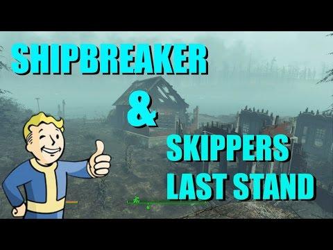Shipbreaker Unmarked Quest & Skipper's Last Stand   Fallout 4 - Far Harbor