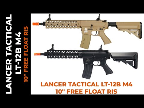 "Lancer Tactical LT-12B M4 w/ 10"" Free Float RIS Overview"