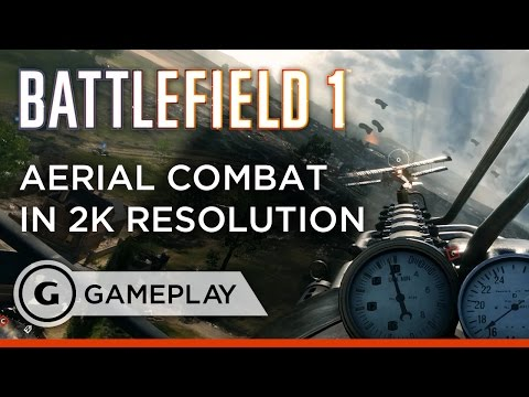 2K Aerial Combat - Battlefield 1 Gameplay