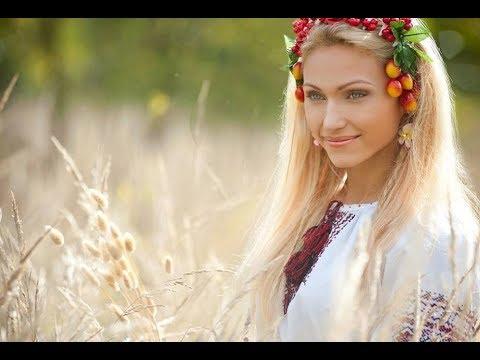 Russian women in ethno dresses