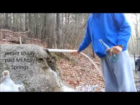 Cosmic Permaculture- Pine Grove Spring Water! Permaculture Principle #5