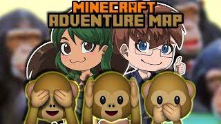 DR. Monkeys Brian Training   Minecraft Adventure Map