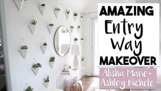 Interior Design | Breathtaking Entry Way Transformation Ashley   Alisha Marie