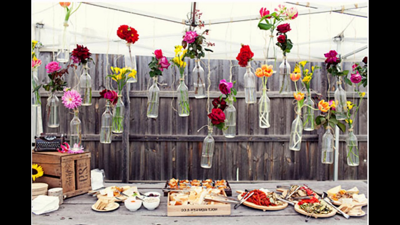de boda al aire libre
