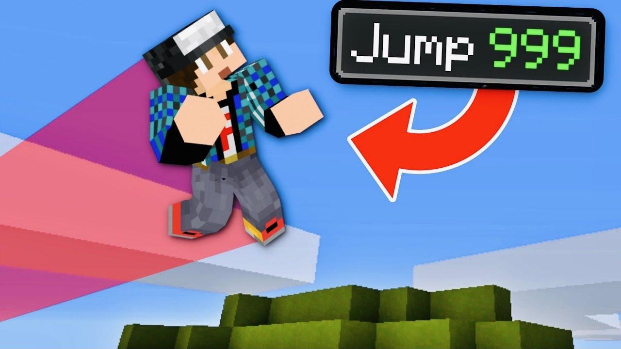 Minecraft αλλά κάθε άλμα πολλαπλασιάζεται Famous Games