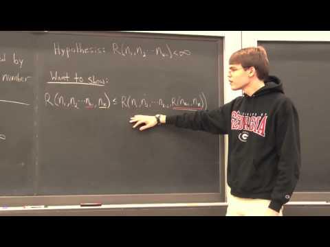 Ramsey Theory 4: Generalizing Ramsey's Theorem
