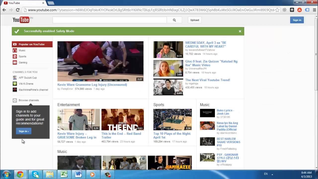 pornographic videos flood youtube