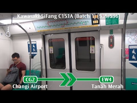 SMRT C151A (Batch 1) [535/536]: Changi Airport → Tanah Merah
