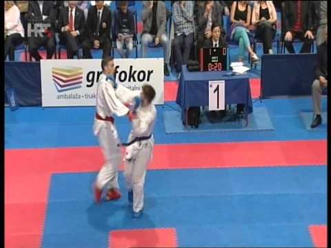 4 Zagreb Karate Cup Hrt Snimka Youtube