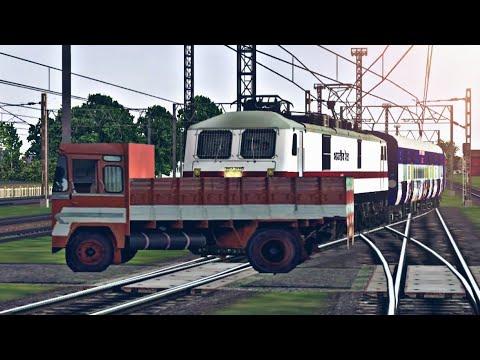 Train Truck Accident 2018 Indian Train Simulator Indian