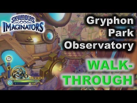 Skylanders Imaginators - Gryphon Park Observatory level WALK-THROUGH