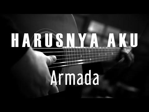 Harusnya Aku - Armada ( Acoustic Karaoke )