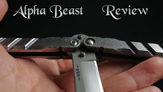 BRS Alpha Beast Review: The Golden Standard of Balisongs (Butterfly Knives)