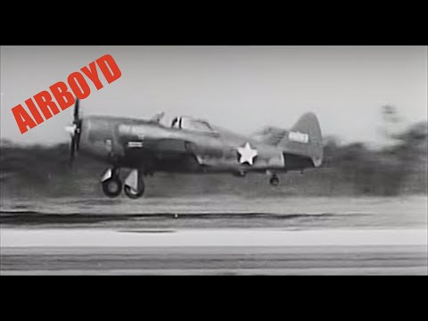 How To Fly The P-47 - Pilot Familiarization (1943)