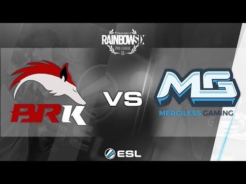 Rainbow Six Pro League - Season 2 - PC - LATAM - BRK E-Sports vs. Merciless Gaming - Week 1