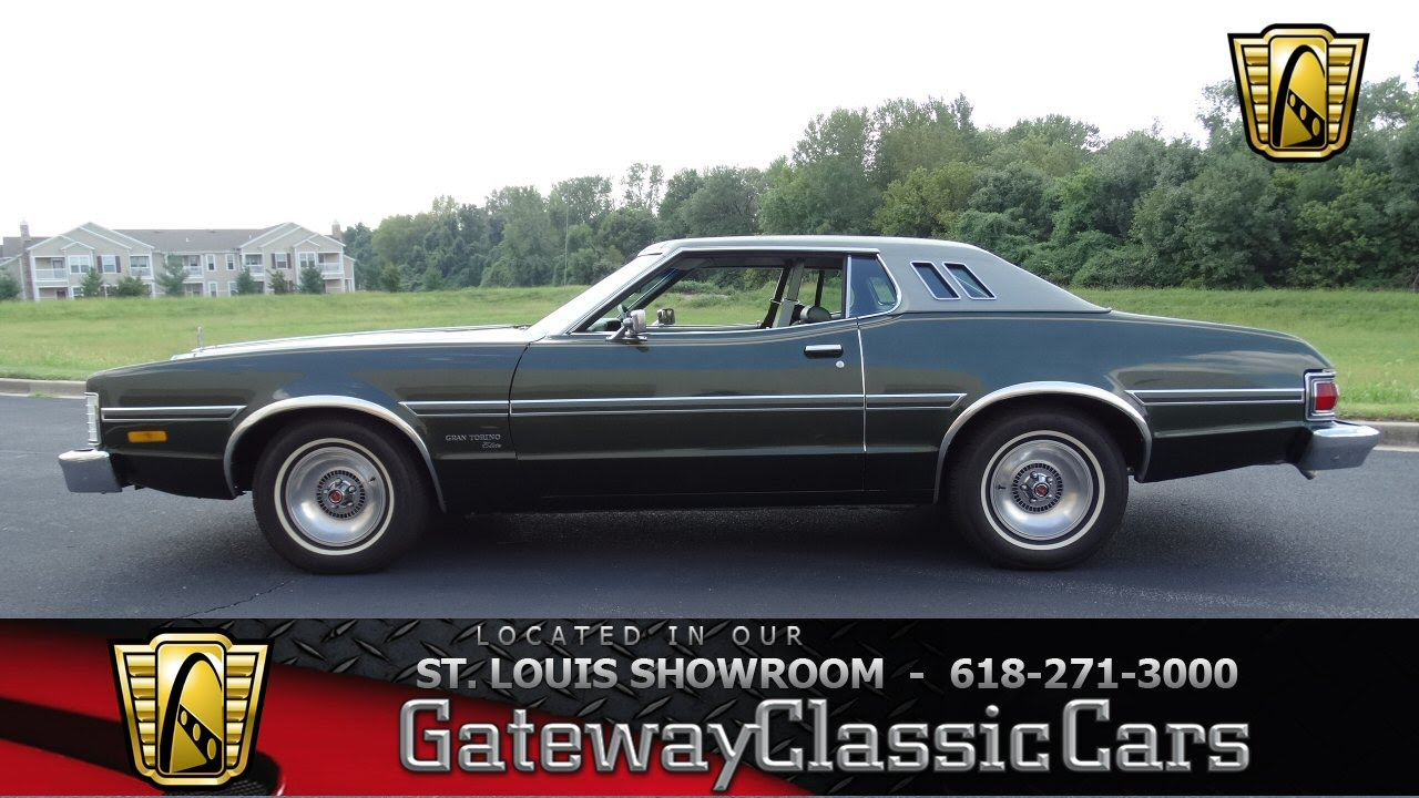 1974 Ford Torino Elite for sale at Gateway Classic Cars STL