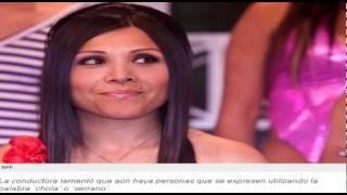 Tula Rodríguez: Mi hija no dira palabras racistas por que es chola como su madre.