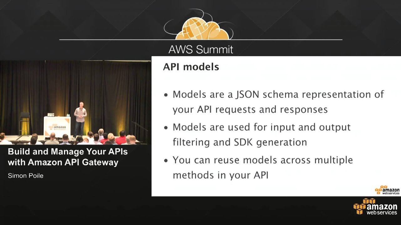 AWS Summit San Francisco 2015: Build and Manage Your APIs with Amazon API  Gateway