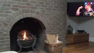 Diy Conversion - Old Redundant Fireplace With Bio Fuel Insert