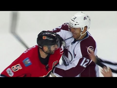 Former Flames captain Iginla stirring things up with current captain Giordano