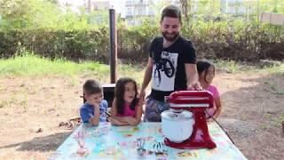 Evde Gerçek Dondurma Yapımı - Doğal Dondurma - Dondurma Tarifi