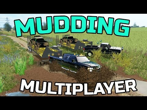 FARMING SIMULATOR 2017 | GOING MUDDIN' | MULTIPLAYER | DURAMAX