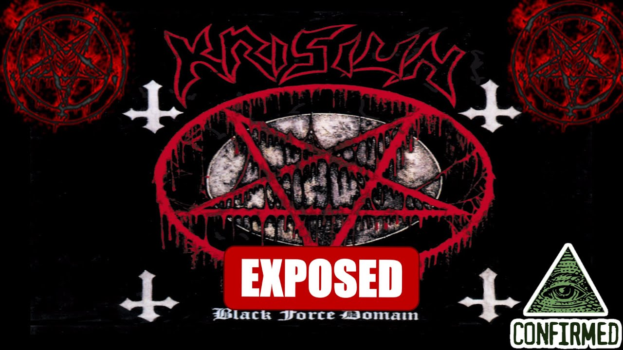 Krisiun Satanic Rock Bandheavy Metalilluminati Occult Symbolism