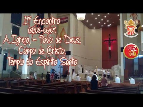 Programa Jubileu em Ação:19º Encontro A igreja Povo de Deus,Corpo de Cristo,Templo do Espírito Santo