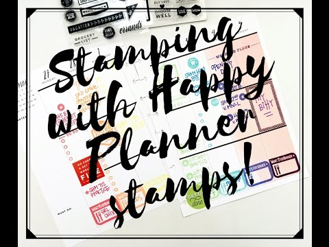 Plan With Me: Feb 27-March 5, 2017 {Using only Happy Planner® Stamps}