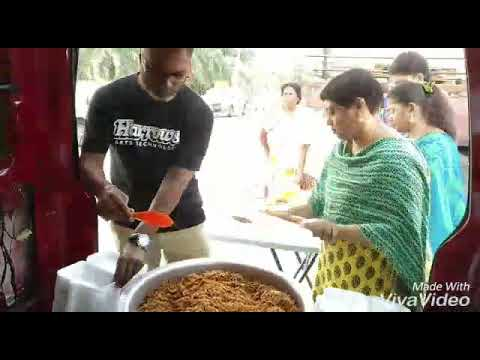 Klang branch Taman Sri Sentosa serve anathanam every month on pournami day
