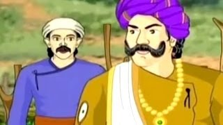 Tales of Akbar And Birbal (In Hindi) -The Persian Trader- Amazing Stories For Kids