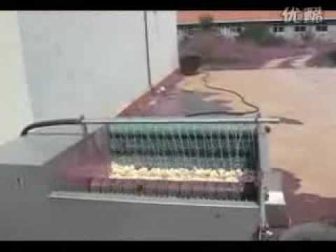 Cassava peeling machine