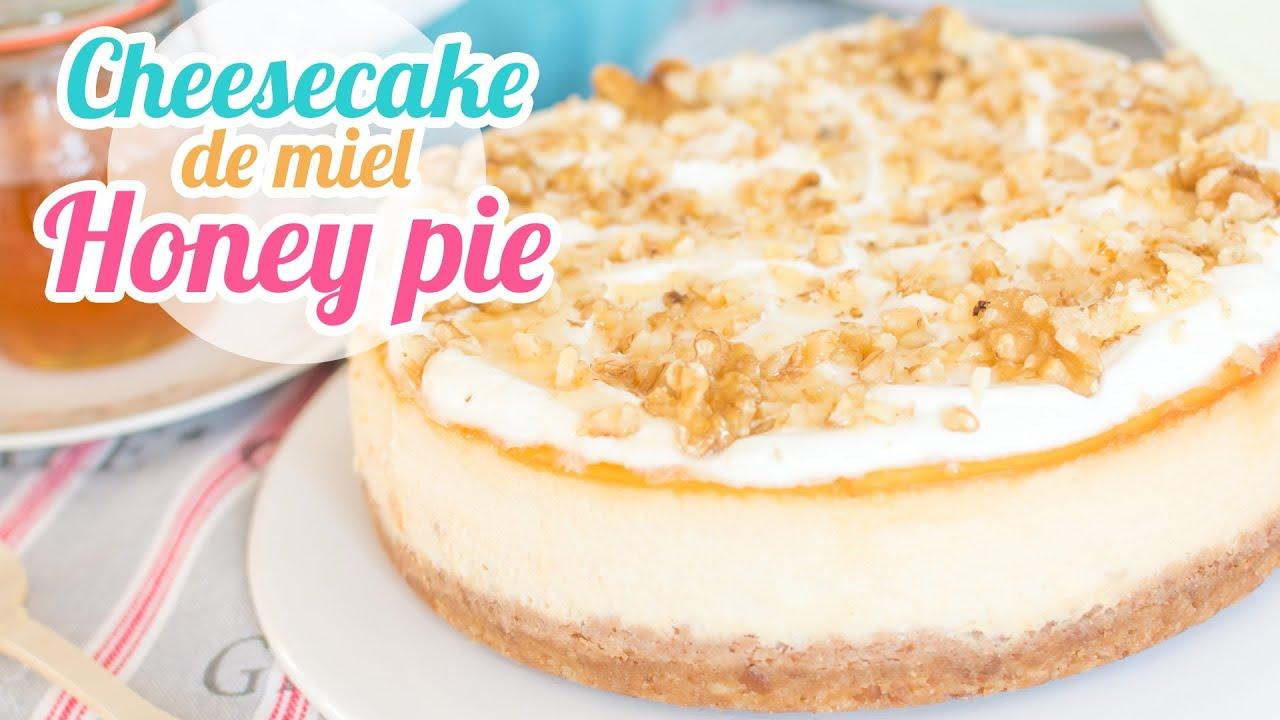 Cheesecake de miel o honey pie desaf o de ingredientes for Youtube cocina para todos