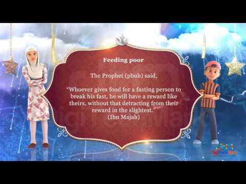 Hadith on Break Fast - Ibn Majah | Video message created by DigiTechMark