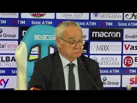 """Conferenza Ranieri post-Spal: """"Mi aspettavo di più da Dzeko e Schick. Non siamo stati una squadra"""""""