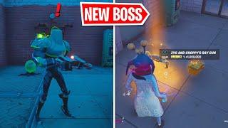 Fortnite New Boss Zyg And Choppy Location New Mythic Ray Gun