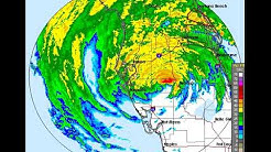 Irma on the Tampa weather radar around 11 p.m. September 10.