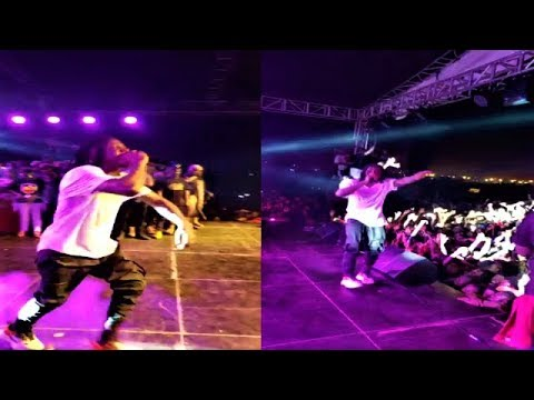 STONEBWOY PERFORMANCE AT ASHAIMAN TO DA WORLD CONCERT 2018