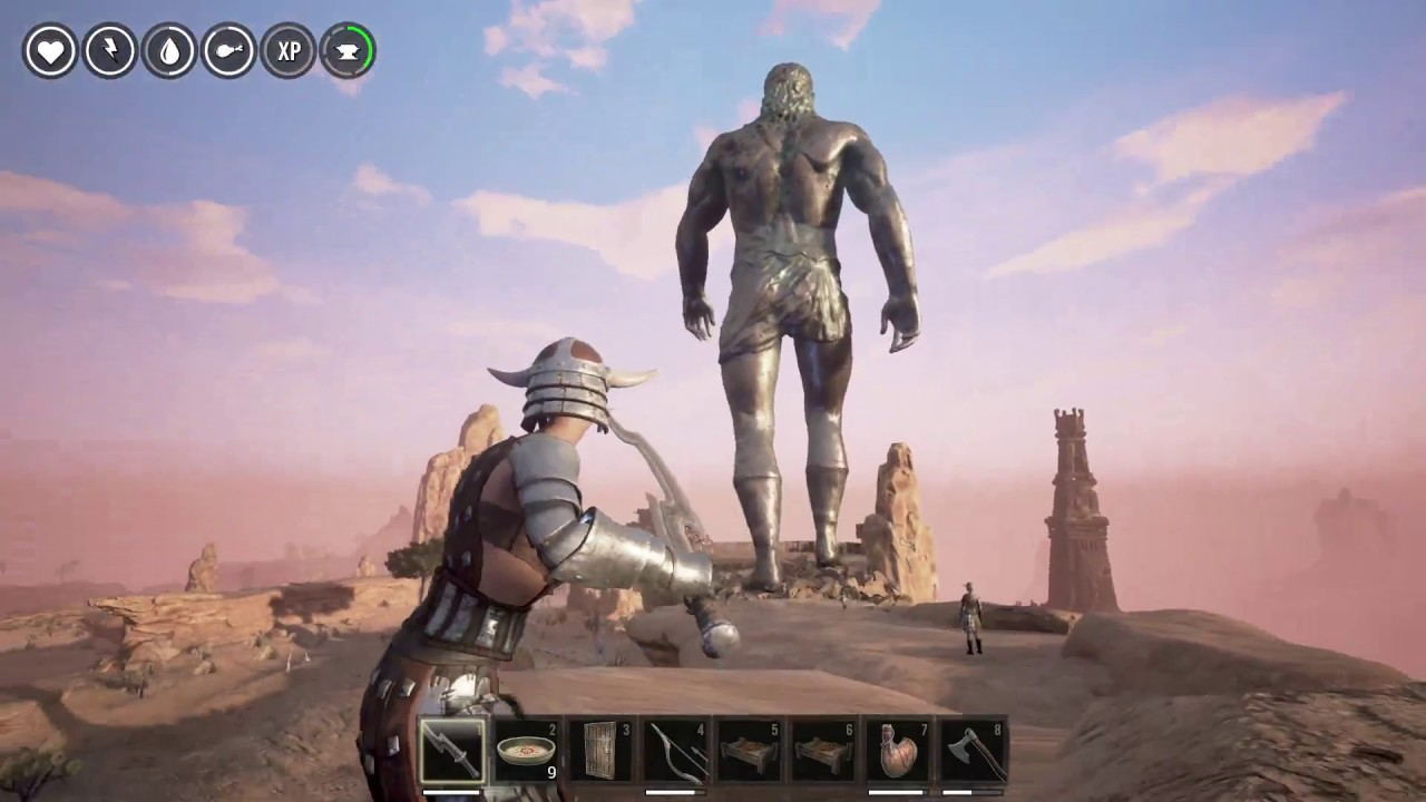 conan exiles how to call god