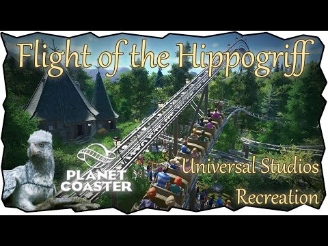 Flight of the Hippogriff | Planet Coaster | Universal Studios Florida Recreation!