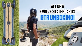 GTR Evolve Electric Skateboard Unboxing !