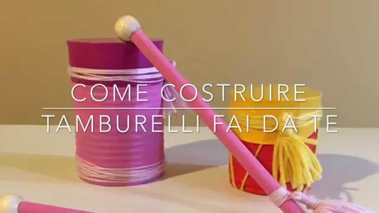 Costruire tamburelli fai da te riciclando barattoli e for Fontana fai da te