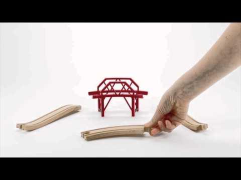 BRIO World - 33699 Curved Bridge