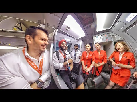 First Time In Air Asia