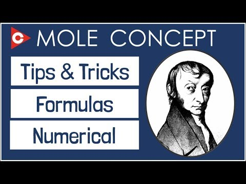 Mole Concept Tips And Tricks