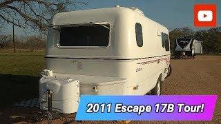 Take a Tour of Our Escape 17B Fiberglass Trailer!