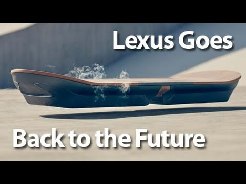 Lexus Hoverboard Price >> Lexus Creates Hoverboard New Camaro Convertible Revealed Autoline Daily 1648